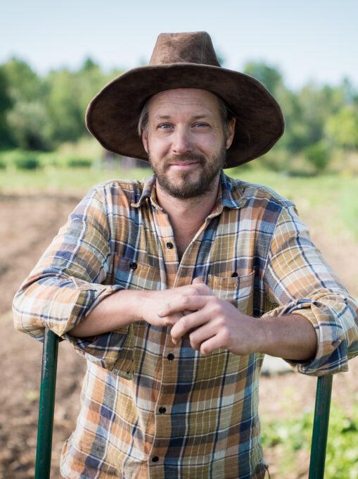 2 Jean-Martin Fortier officiel - Crédit Le jardinier-maraîcher